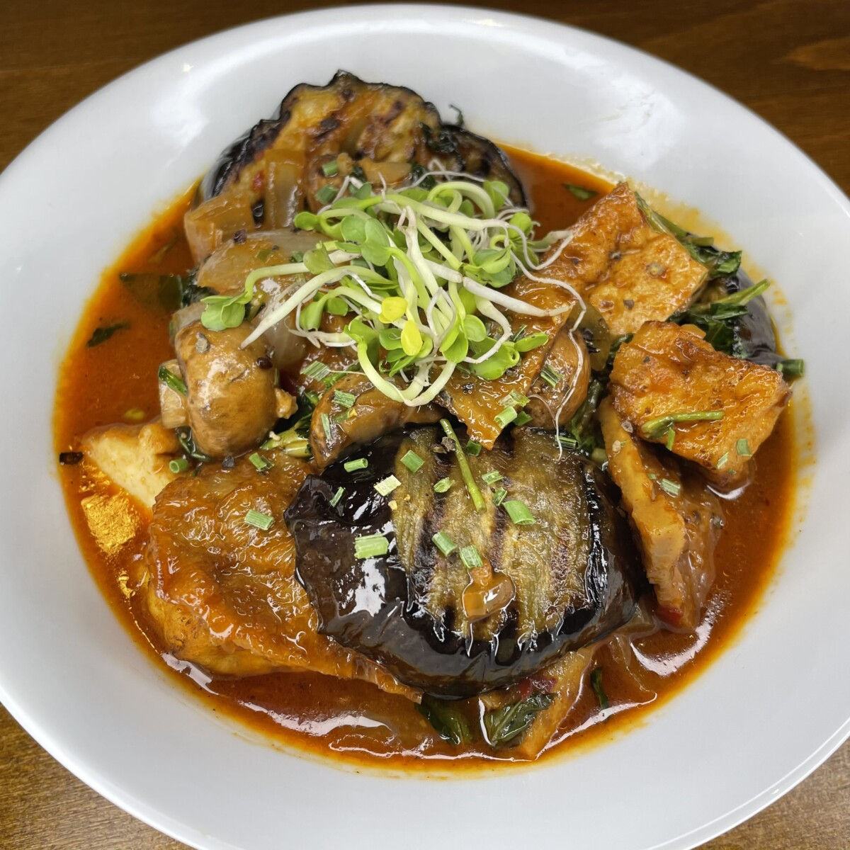 30 Eggplant in Wok (Fry, Wok, Grill)
