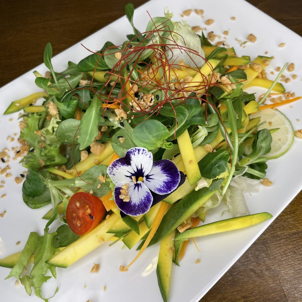 45 Golden Salad ( Salad _ Rolls)